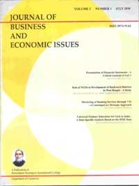Journal of Business and Economic Issues