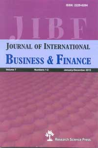 Journal of International of Business and Finance