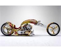 موتورسیکلت گلد پلیت چوپر