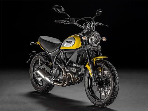 موتورسیکلت دوکاتی Scrambler Icon مدل 2015
