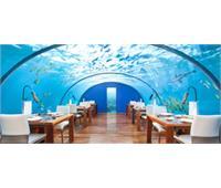 رستوران زیر آب در مالدیو